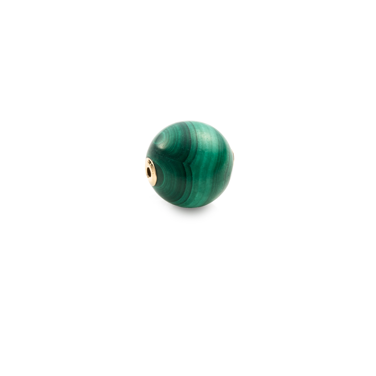 10mm Malachite Stone for Spear Earring CT37GCC 単品パーツ マラカイト