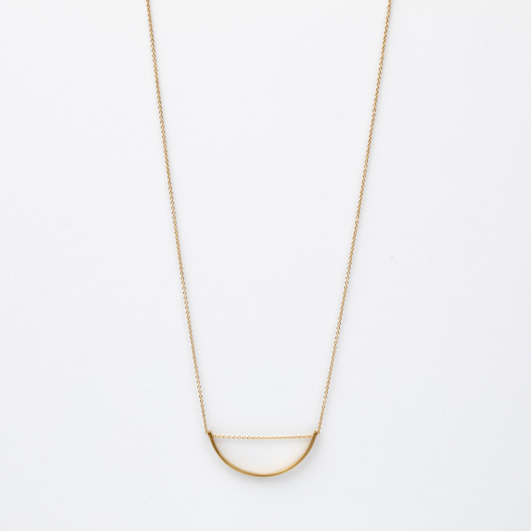 Bow Long Necklace S