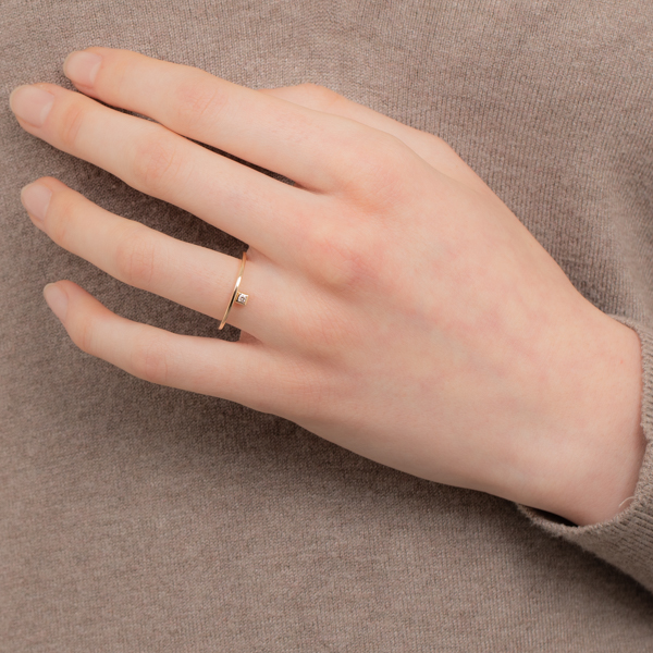【NEW】Stacking Diamond Ring SR01KDR