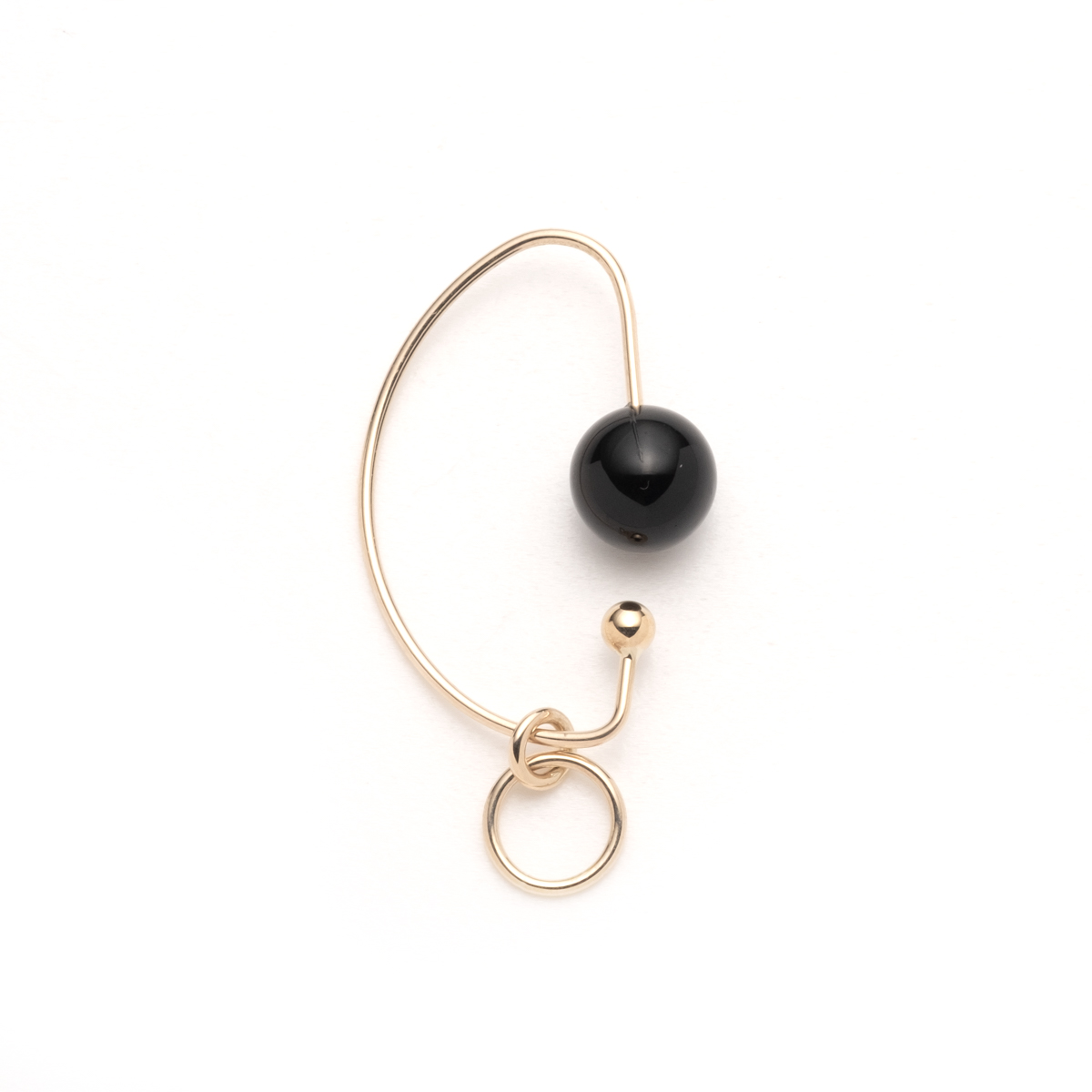Onyx Miro Ear Cuff IN45KCF new 新作 イヤーカフ イヤカフ オニキス 天然石