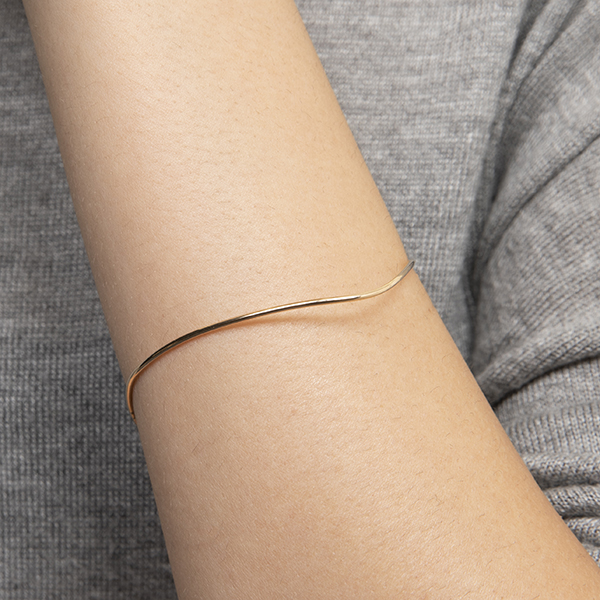 Pointed Oval Bangle AB01KMA バングル プレシャス precious