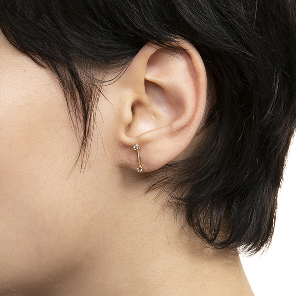 Treehopper Diamond Stud Earring TH02GDE  ピアス ダイヤモンド 片耳