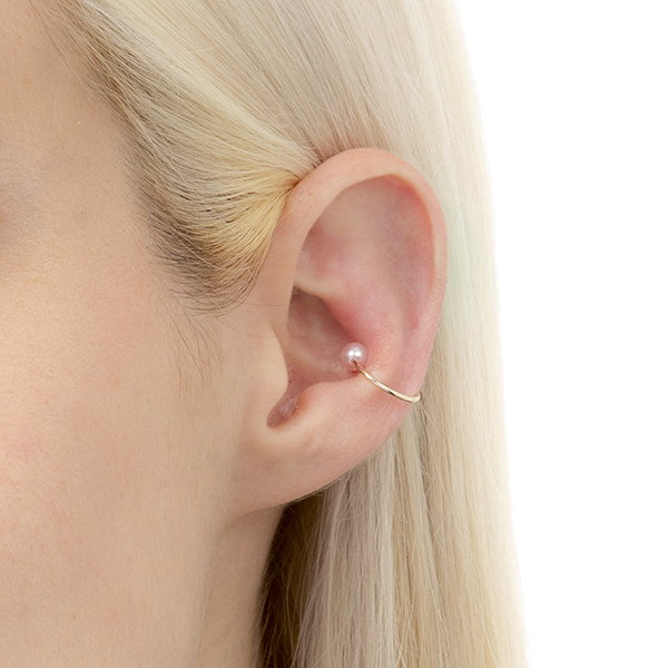 Ear Cuff S size PE21KPFS イヤーカフパール 2019aw アコヤパール イヤカフ アコヤパール