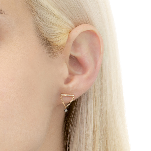 【NEW】Stud Earring FK30KDEZ イヤーカフ 新作 NEW