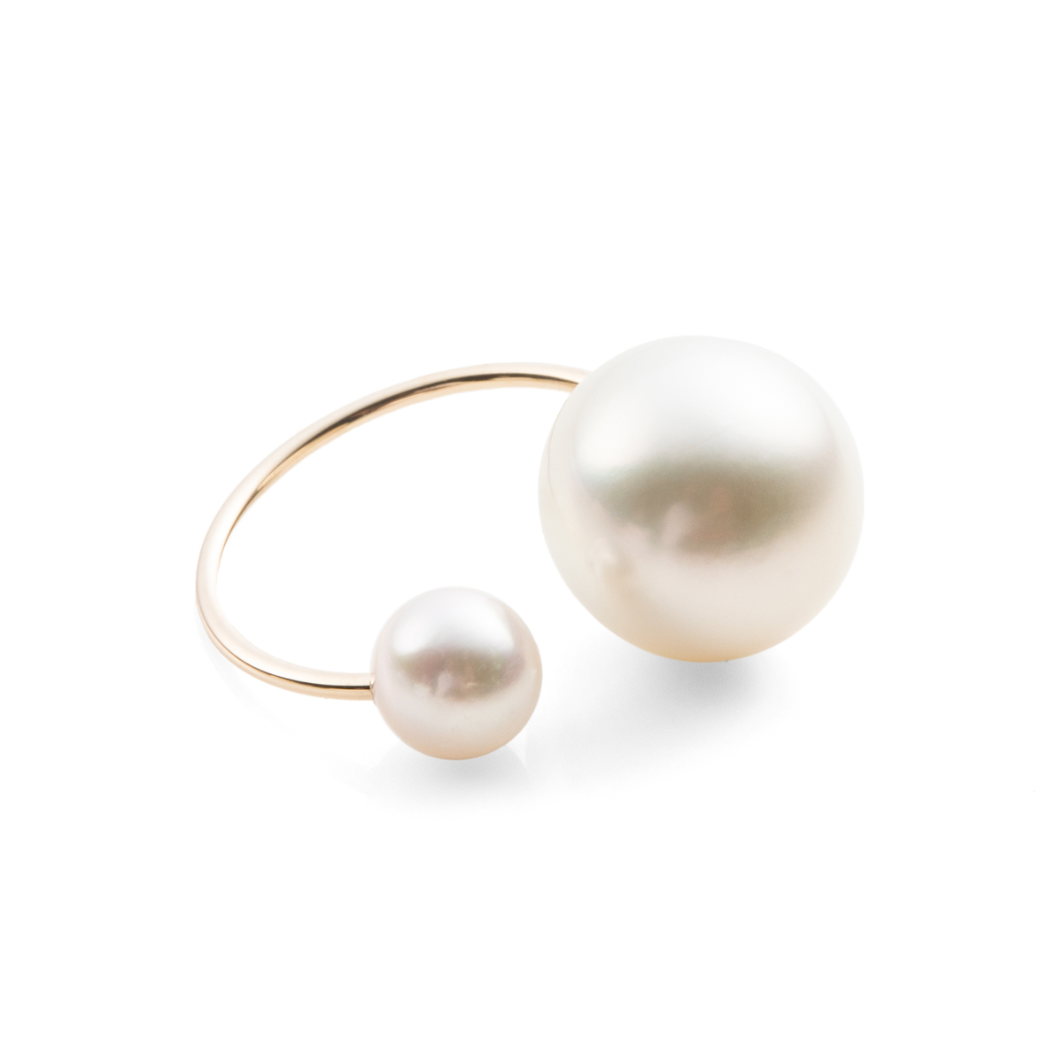 South Sea Pearl Ear Cuff PE06KPF イヤーカフ イヤカフ パール アコヤパール 南洋パール ギフト