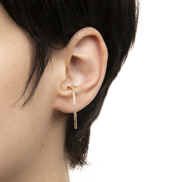 Ear Cuff (Lsize)/YellowGold GS08KDFB イヤーカフ ダイヤモンド
