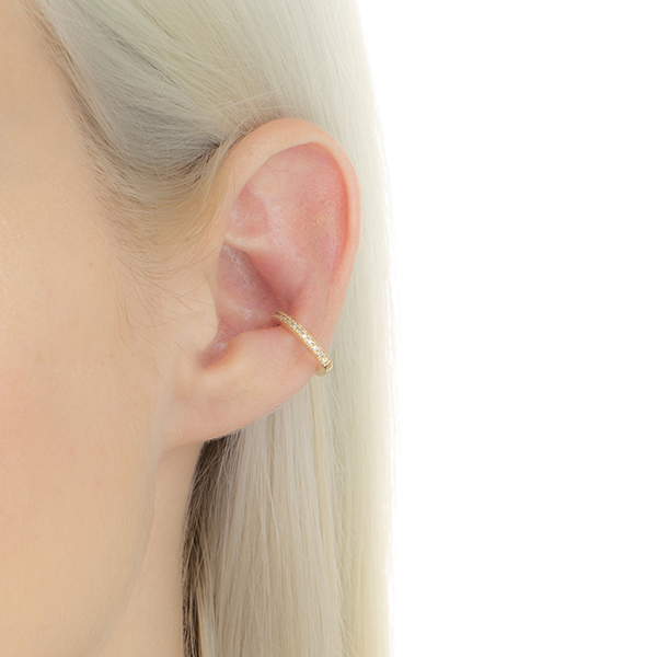 【NEW】Ear Cuff MH03KDFS 2019aw new earcuff dia 新作 イヤーカフ ダイヤモンド