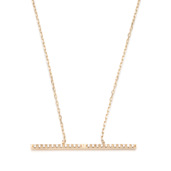 Trapeze Diamond Necklace L TP01KDN Trapeze Diamond Necklace ダイヤ ダイヤモンド トラペーズ ネックレス
