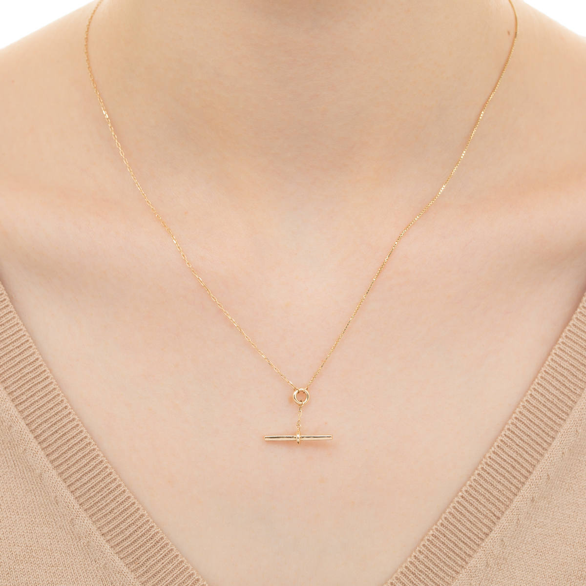Trapeze Necklace TP04KMN Trapeze  ベネチアンチェーン ケーブルチェーン トラペーズ