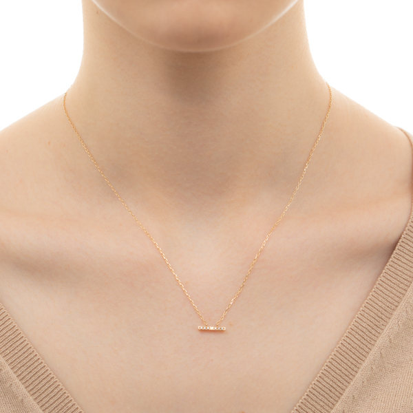 Trapeze Diamond Necklace S TP03KDN Necklace Dia  Diamond Trapeze  ネックレス ダイヤ ダイヤモンド トラペーズ