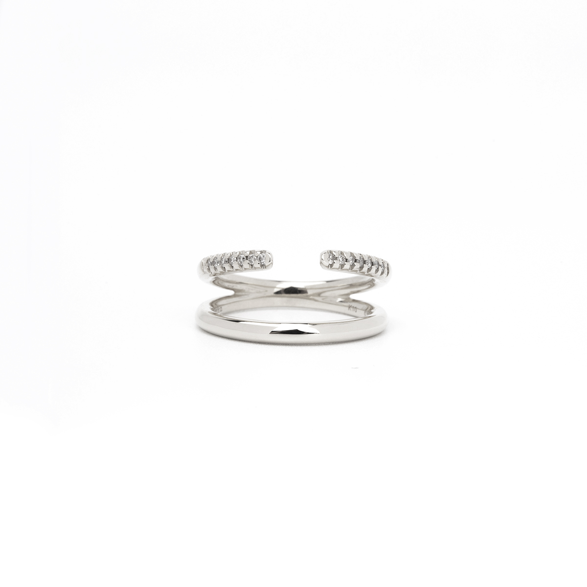 【NEW】Manta Ring (WhiteGold)